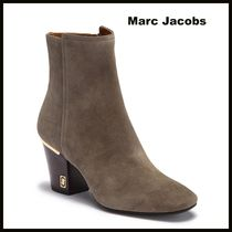 MARC JACOBS Wedge Plain Toe Casual Style Suede Plain Party Style