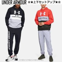 UNDER ARMOUR Street Style Oversized Top-bottom sets