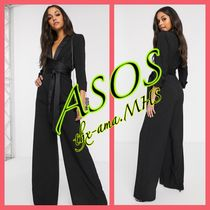 ASOS Cropped Long Party Style Elegant Style Dresses