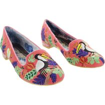 Irregular Choice Round Toe Casual Style Other Animal Patterns Party Style
