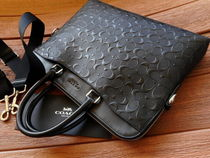 Coach Bag in Bag A4 2WAY Leather Small Shoulder Bag Logo