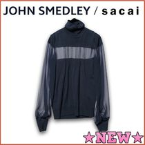 sacai Casual Style Wool Blended Fabrics Street Style Long Sleeves