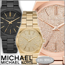 Michael Kors Casual Style Studded Round Party Style Quartz Watches