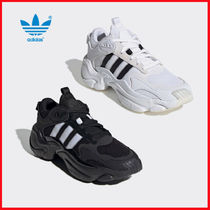 adidas MAGMUR Casual Style Unisex Street Style Oversized Low-Top Sneakers