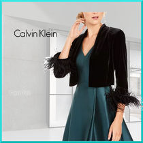 Calvin Klein Short Plain Medium Boleros & Shawls