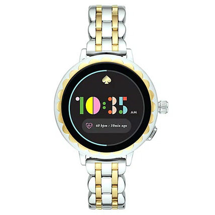 kate spade new york Casual Style Round Stainless Office Style Digital Watches