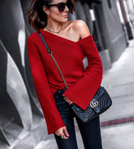 Cable Knit Peplum Tassel Plain Cotton Medium Fringes