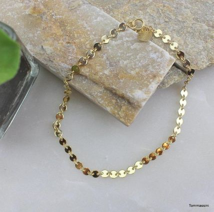 Chain Silver 14K Gold Anklets