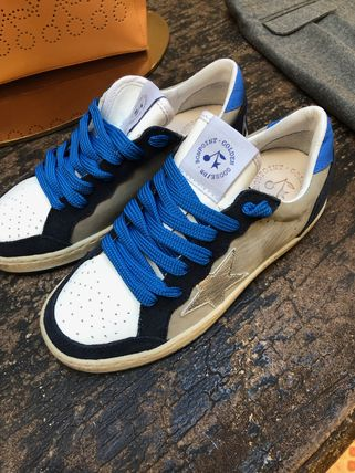 Collaboration Leather Low-Top Sneakers