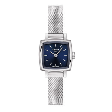 Square Quartz Watches Stainless Office Style Elegant Style