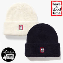 have a good time Unisex Street Style Knit Hats