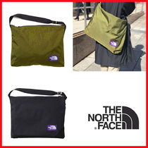 THE NORTH FACE Casual Style Unisex Street Style A4 Plain Oversized Satchels