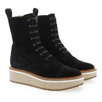 Robert Clergerie Lace-up Leather Boots Boots
