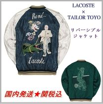 LACOSTE Collaboration Other Animal Patterns Souvenir Jackets