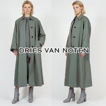 Dries Van Noten Plain Long Elegant Style Coats