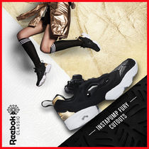 Reebok PUMP FURY Casual Style Unisex Street Style Oversized Low-Top Sneakers