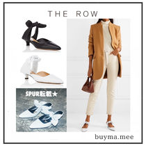 The Row Plain Leather Party Style Elegant Style