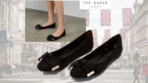 TED BAKER Round Toe Casual Style Suede Plain Party Style Office Style