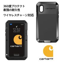 Carhartt Unisex Street Style Plain Smart Phone Cases