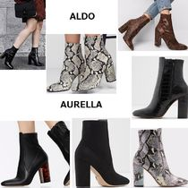 ALDO Round Toe Casual Style Faux Fur Street Style