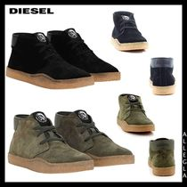 DIESEL Leather Chukkas Boots