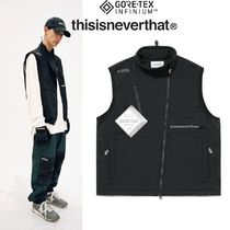 thisisneverthat Street Style Plain Vests & Gillets