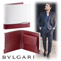 Bvlgari Leather Folding Wallets