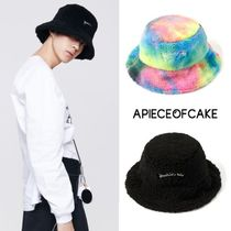 A PIECE OF CAKE Unisex Street Style Bucket Hats Wide-brimmed Hats