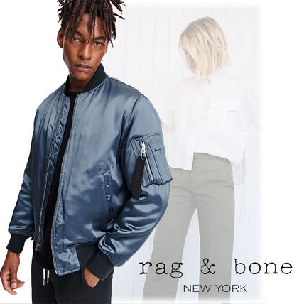Short Nylon Plain Jackets