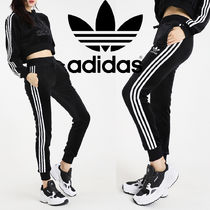 adidas Casual Style Street Style Plain Cotton Long Pants