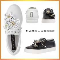 MARC JACOBS Flower Patterns Casual Style Street Style Leather