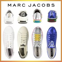 MARC JACOBS Casual Style Street Style Leather Low-Top Sneakers