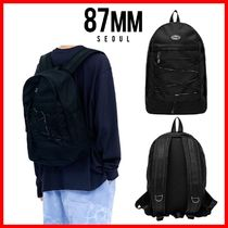 87MM Casual Style Unisex Street Style Backpacks