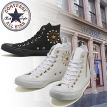 CONVERSE ALL STAR Star Casual Style Unisex Street Style Plain Logo