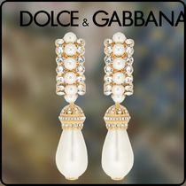 Dolce & Gabbana Initial Party Style Special Edition Brass With Jewels