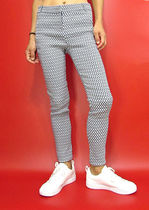 Other Check Patterns Casual Style Long Office Style