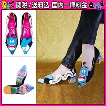 DOLLS KILL Glitter Pointed Toe Shoes