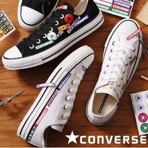 CONVERSE ALL STAR Rubber Sole Lace-up Casual Style Unisex Plain