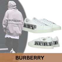 Burberry Plain Leather Sneakers