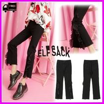 ELF SACK Casual Style Street Style Plain Medium