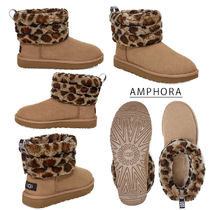 UGG Australia CLASSIC MINI Casual Style Sheepskin Ankle & Booties Boots