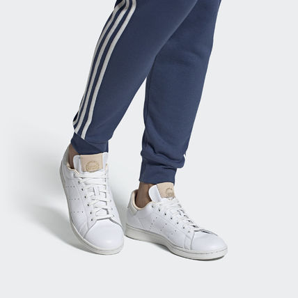 adidas STAN SMITH Street Style Leather Logo Sneakers