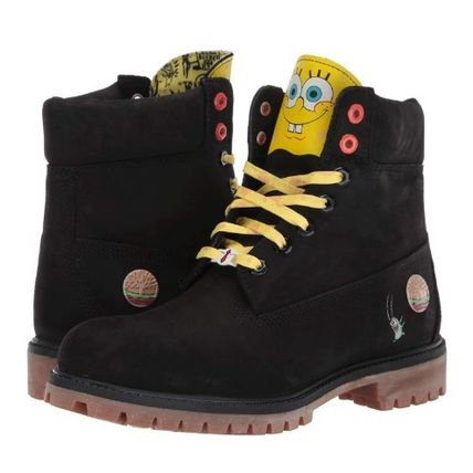 Street Style Collaboration Logo Boots