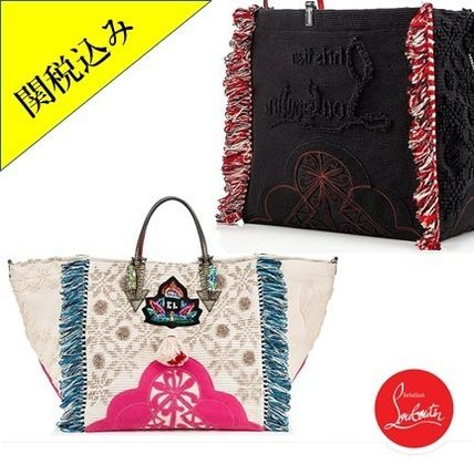 Fringes With Jewels Totes