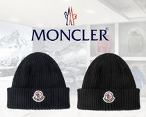 MONCLER Unisex Street Style Knit Hats