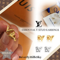 Louis Vuitton V Unisex Earrings