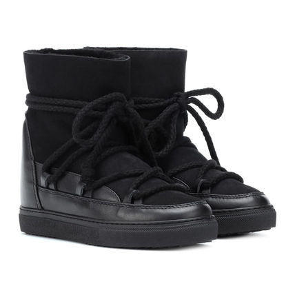Other Plaid Patterns Platform Lace-up Casual Style Unisex