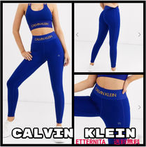 Calvin Klein Plain Cotton Leggings Pants