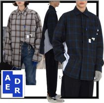 ADERERROR Casual Style Unisex Street Style Shirts & Blouses
