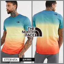 THE NORTH FACE Crew Neck Cotton Short Sleeves Crew Neck T-Shirts